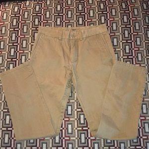 Men's Old Navy Slim Tan Khakis Size 30x32